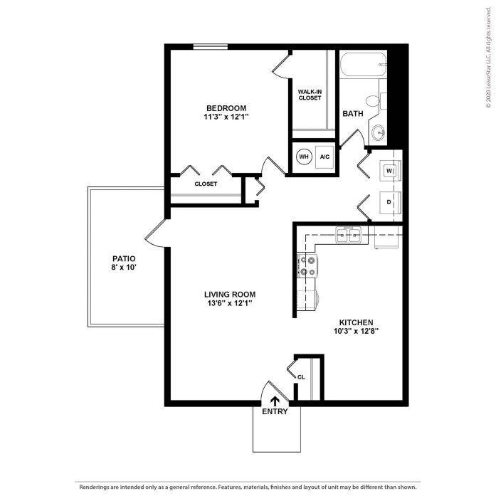 Conyers, GA Brookfield Apartment Homes Floor Plans