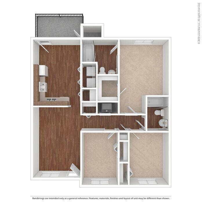 3 Bedroom Apartments Jacksonville, FL