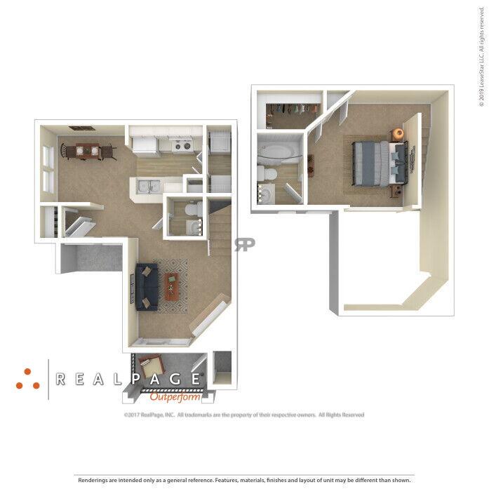 Colorado Springs, CO EPERNAY APARTMENTS Floor Plans