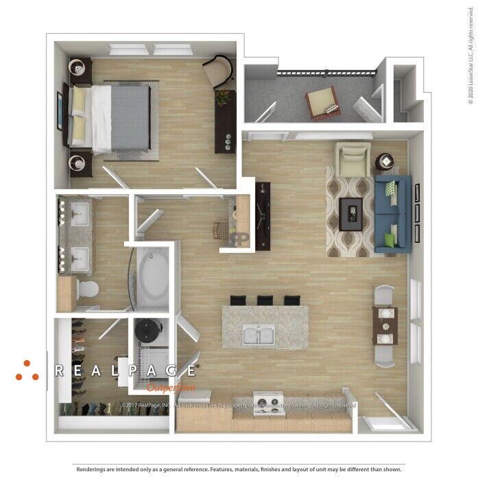 Apartments Near University Of Houston-Magnolia Floor Plans