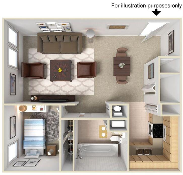 Jamestown Apartments Fort Wayne Floor Plans: Fort Wayne, IN Wood Creek Apartments Floor Plans